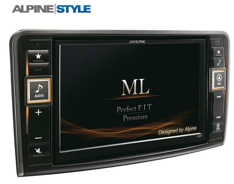 Alpine X800D-Mercedes ML/GL