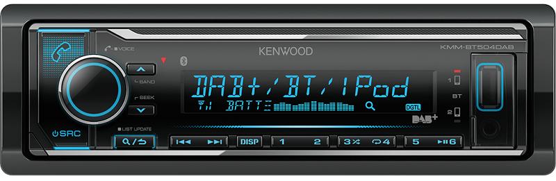 Kenwood ΚMM-BT504DAB