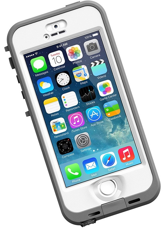 LifeProof iPhone 5/5S Case White-Nuud