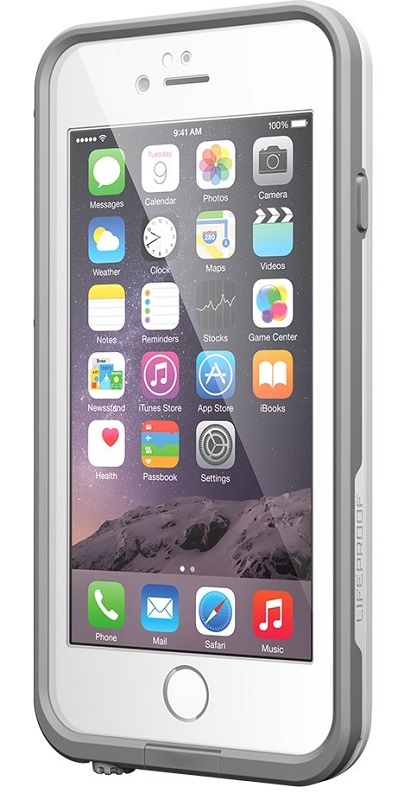Lifeproof Case for iPhone 6, White/Grey (7750342)