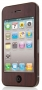 Belkin STICKER,PVC,iPhone 4,Wood Grain, WALNUT(F8Z893cwC00)