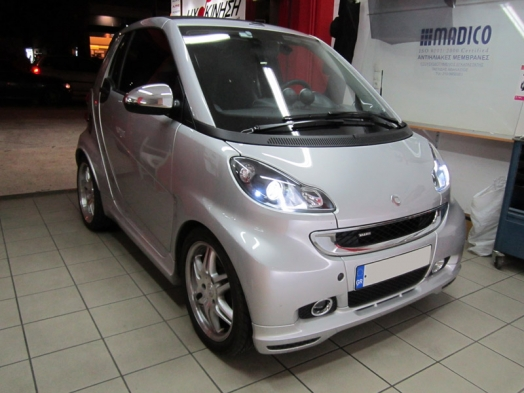 SMART 2012 BRABUS- KENWOOD DDX-8026BT