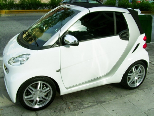 Smart Fortwo 2007 - Kenwood DDX-8022BT