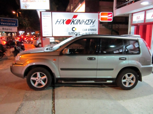 Nissan X-TRAIL 2008 - Kenwood DNX-5280BT