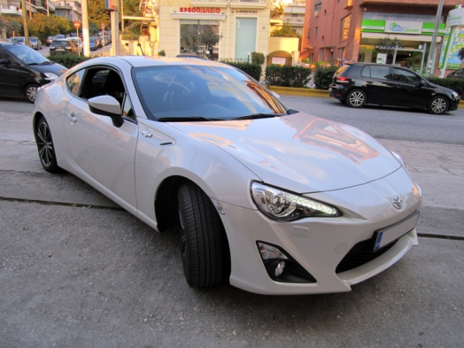 Toyota GT86 - Alpine CDE-W296BT / Audison Project