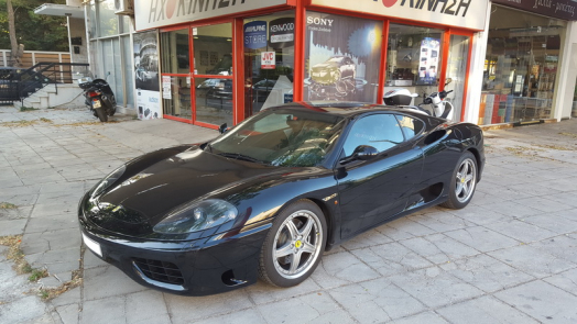 Ferrari 360 Modena - Sound System Upgrade