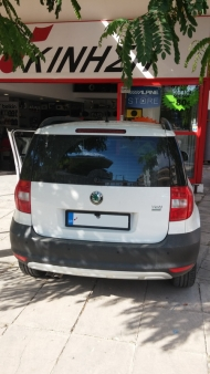 Skoda Yeti - Zenec multimedia + Camera