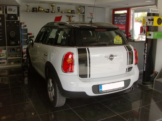 MINI COOPER COUNTRYMAN - PARROT CK3100 LCD