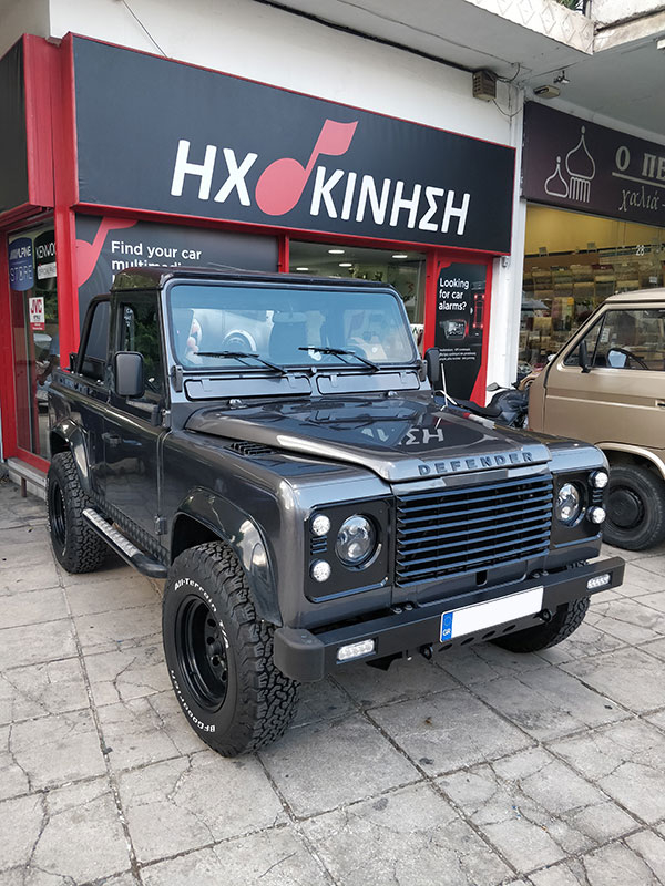 Land Rover DEFENDER -  SOUND PROJECT