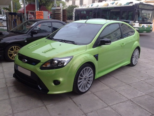 Ford focus RS 2009 - Kenwood DDX8024BT