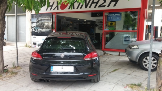 VW Scirocco - Zenec Ze-2015 + Focal PS165F