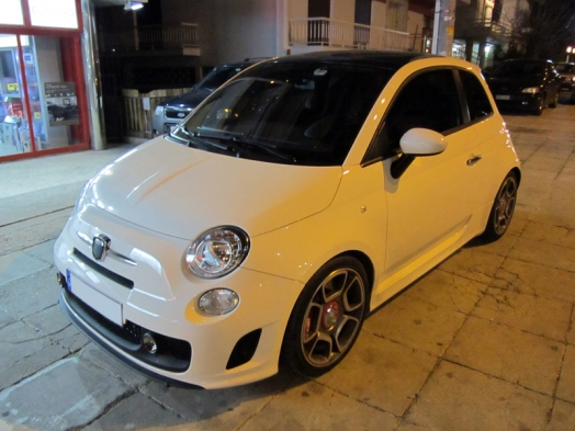 FIAT 500 Abarth -  Parrot Asteroid Smart