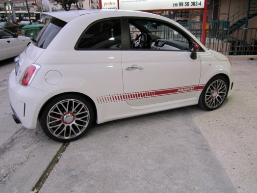 FIAT 500 ABARTH (595 turismo) - Parrot Asteroid Smart
